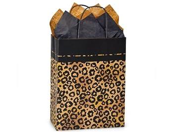 Amazon.com: Negro & Kraft Safari Leopardo Medium Papel ...