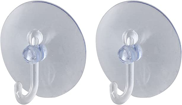 Clear Suction Cup Hooks Rubber Plastic Rubber Window Wall Tile Suckers Pads Hang