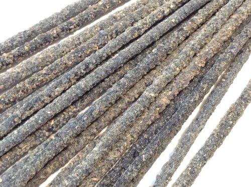 Mexican Copal Incense, 4 Bags with 10 Sticks Each. Handmade in Mexico with Gray Copal Resin.