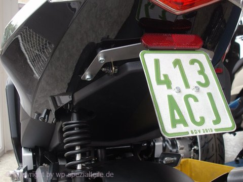 Speedfight 3 Tuning plate holder in the middle PLATE MIDDLE 50ccm LC 307 WRC LAC RS AC Le Mans Darkside Iceblade New