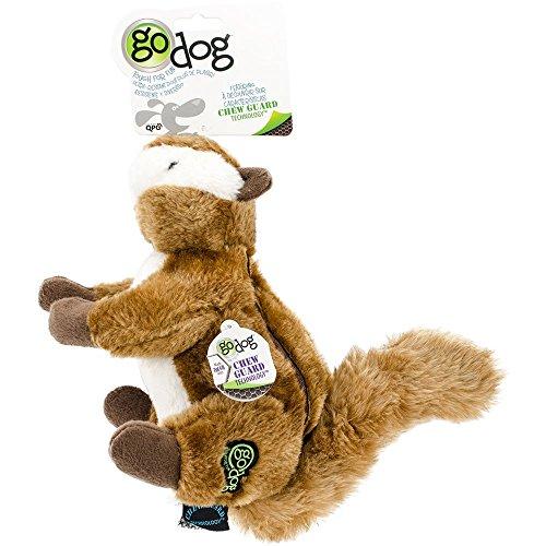 GoDog Chipmunk with Chew Guard Technology Dog Toy LARGE