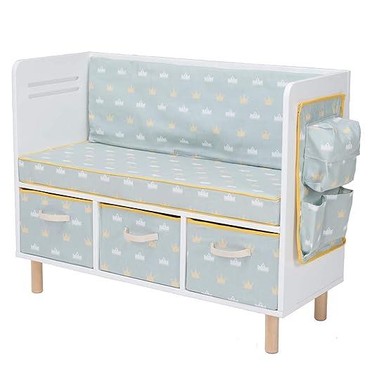 JOLIE VALLÉE TOYS & HOME - Mini sofá con Estructura de ...