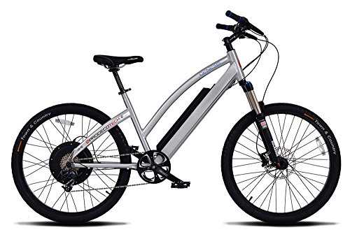 "Prodeco Tech Genesis DT V7 Brushed Aluminum 26"" Electric Bicycle w/36V Battery"