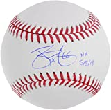James Paxton Seattle Mariners Autographed Baseball with N.H. 5/8/18 Inscription - Fanatics Authentic Certified