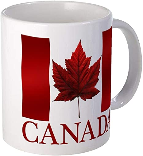 Canada Flag Souvenirs Coffee Cup Gift