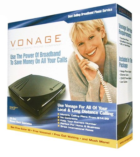 Motorola Vt1005v Phone Adaptor For Vonage Internet Phone Service