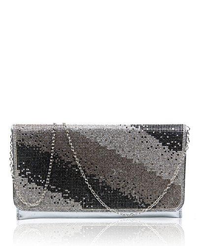 Pochette RedFox silver pour RedFox femme Pochette qSwBzE0