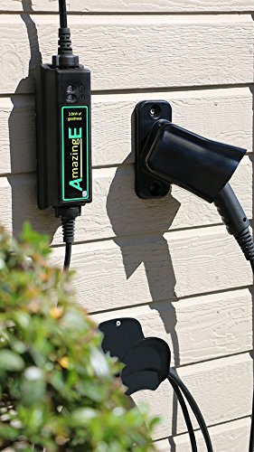 AmazingE Black EV Charging Station Wall-Mount Cable Wrap by AmazingE (Image #2)