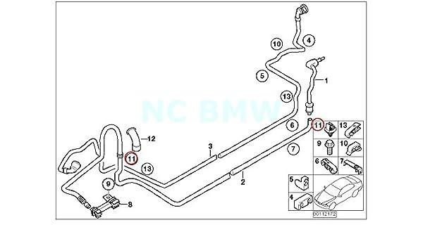 Amazon Com Bmw Genuine Fuel Pipe Bracket Automotive