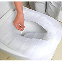 Coolbitz Disposable Hygienic Toilet seat Cover Paper Self-adhesive Home Travel PACK OF 250 PCS