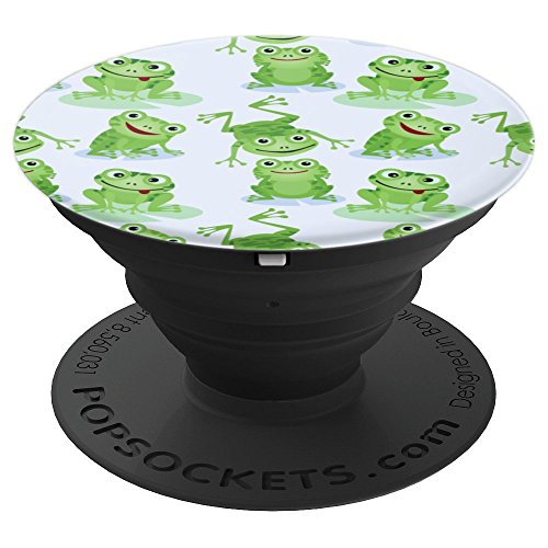 Froggy Froggies Frogs - PopSockets Grip and Stand for Phones and Tablets