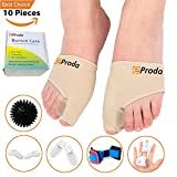 eProda Bunion Corrector - Orthopedic Foot Pain Relief Sleeves Kit with Massage Ball Bunion Splint & 3 Pairs Toe Separators Spacers for Men & Women - Stop Plantar Fasciitis Hammer Toes Hallux Valgus