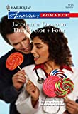 The Doctor + Four by Jacqueline Diamond front cover
