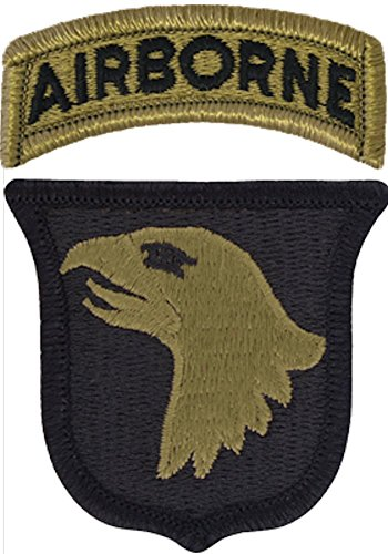 Unit Patch - 101st Airborne Division Multicam Patch with Airborne Tab