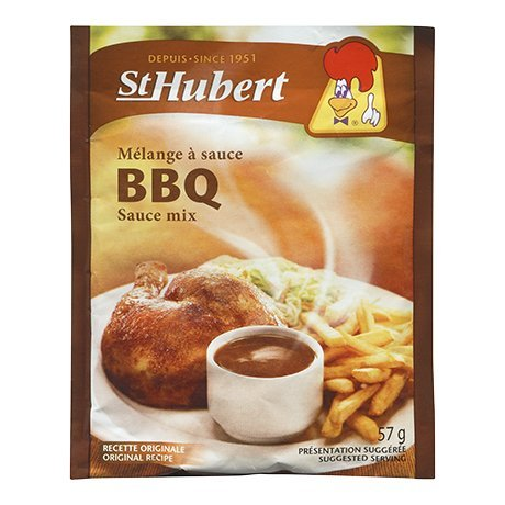 St Hubert BBQ Sauce Mix 57g 3 packs {Imported from Canada}