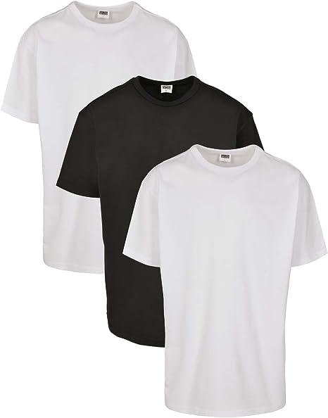 Urban Classics Camiseta (Pack de 3) para Hombre: Amazon.es: Ropa y ...
