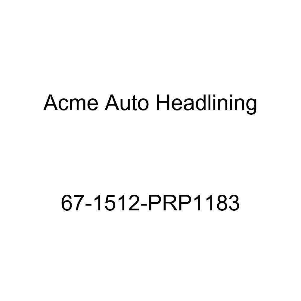 Acme Auto Headlining 67-1512-PRP1183 Dark Blue Replacement Headliner Pontiac Grand Prix 2 Door Hardtop 5 Bow