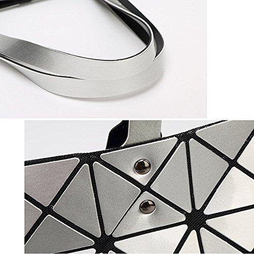 Tracolla Moda Geometrica Borsa Pieghevole A Della Ajlbt Sorgente Lightpurple Donna Casual qwp7qXx