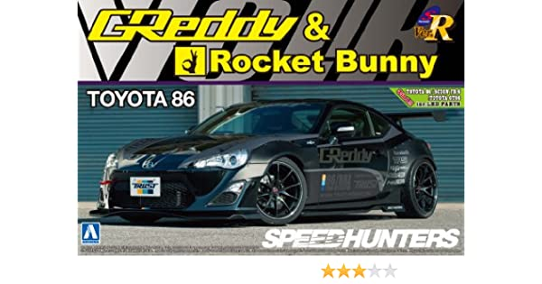 1/24 S package version R Series No.56 TOYOTA 86 12 GREDDY & ROCKET BUNNY VOLK RACING Ver. (japan import) by Aoshima