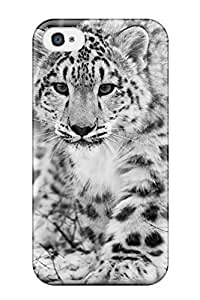 Faddish Phone The Snow Leopard Case For Iphone 4/4s / Perfect Case Cover