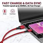 ZKAPOR-Cavo-USB-3Pezzi-03m-1m-2m-Cavo-USB-Tipo-C-Ricarica-Rapida-e-Trasmissione-Cavo-USB-Type-C-per-Samsung-S10S9S8A40A50A70Note-9-Huawei-P30P20Mate-20-Xiaomi-Redmi-Note-7