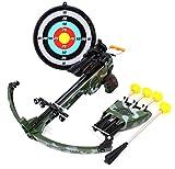PowerTRC Military Toy Crossbow Set w/Target