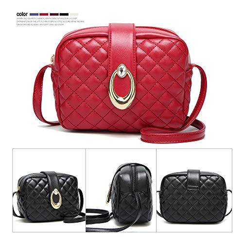 al Red Negro mujer Bolso JACVAAP B JVPS2024 hombro Negro para IqdzYYx5