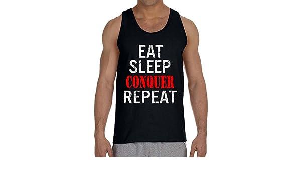 Interstate Apparel Mens Eat Sleep Bench Repeat TV24 Black//Camo Raglan Baseball Sweatshirt Black