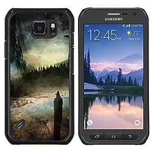 Ciel - Metal de aluminio y de plástico duro Caja del teléfono - Negro - Samsung Galaxy S6 active / SM-G890 (NOT S6)