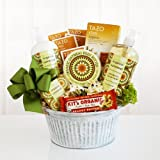 Healthy and Natural Organic Oatmeal Spa Gift Basket by The Gift Basket Gallery