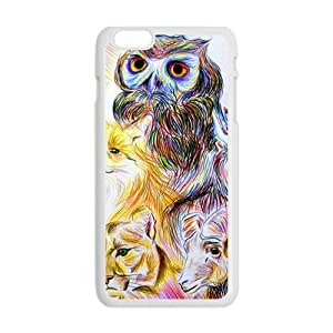 Cool Painting Animal Painting Hot Seller Stylish Hard Case For Iphone 6 Plus