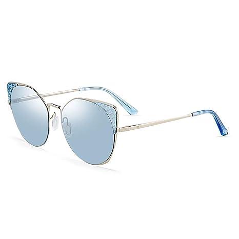 ZXW Gafas de Sol- Gafas de Sol Moda de Mujer Elegante Cara ...
