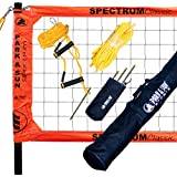 Park & Sun Sports Portable Outdoor Volleyball Net System: Professional Spectrum Classic
