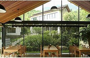 Vicareer Black Bamboo Roll Up persianas-Ventanas Lisas Tonos de Madera-Roller Shades para la Puerta del Patio Interior Balcón Sala de té, Cortinas de elevación antivaho - Personalizable: Amazon.es: Hogar