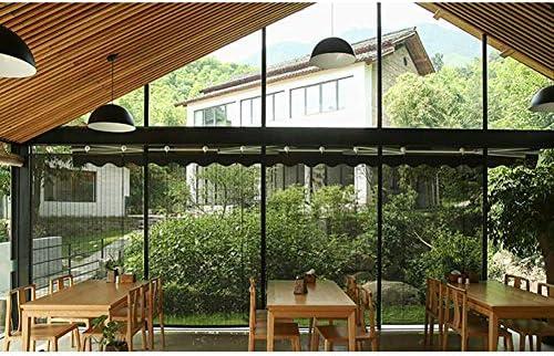 Vicareer Black Bamboo Roll Up persianas-Ventanas Lisas Tonos de ...