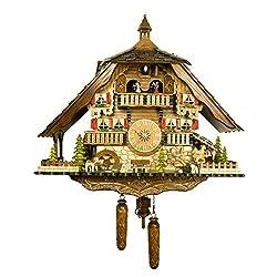 Engstler Quartz Cuckoo Clock - Fun on the See-Saw