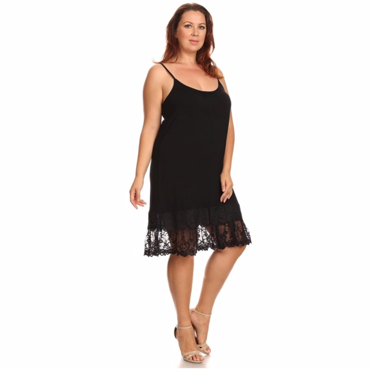 e1531e93f8fbe Black Crochet Lace Layered Dress – Little Black Dress | Black Lace ...
