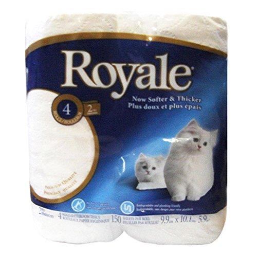 Royale Bathroom Tissue (4 Rolls)