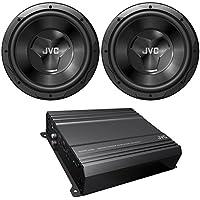 New JVC cspk2120 Car Audio Amplifier & subwoofer Package