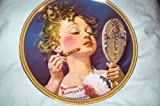 Norman Rockwell Plate - Making Believe At The Mirror - 1982 Rockwell's Rediscovered Women