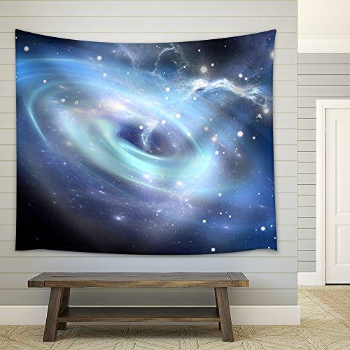 Heavy Black Hole Fabric Wall