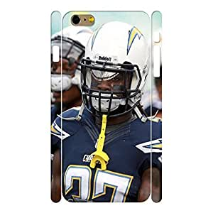 Modern Hard Sports Series Football Player Photograph Phone Shell for Iphone 6 Plus Case - 5.5 Inch