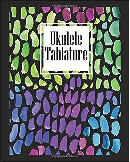 Amazon com: Ukulele Tablature: Ukulele Blank Sheet Music 150
