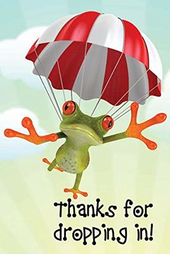 (Thanks for Dropping In! Frog Postcard (Pkg of 25))
