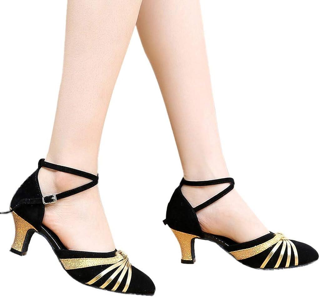 Darringls_Sandalias de Primavera Verano Mujer, Zapatos de Baile de ...