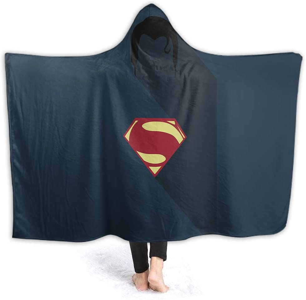 Wearable Superman Design Oversized Throw Blankets