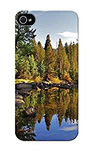 Appearance Snap-on Case Designed For Iphone 6 4.7- Water Landscapes Trees (best Gifts For Lovers)