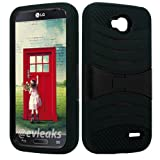 NP CITY Phone Case Armor Cover for LG Optimus L90 / D410 / D405 / D415 (sBLACK/Black U/C)