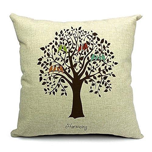 Birds Throw Pillows Amazon Custom Decorative Throw Pillows With Birds