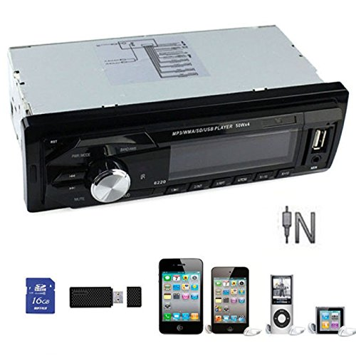 Doinshop (TM) Useful Car Audio Stereo In-Dash FM Receiver With USB SD Mp3 Player AUX Input 6220